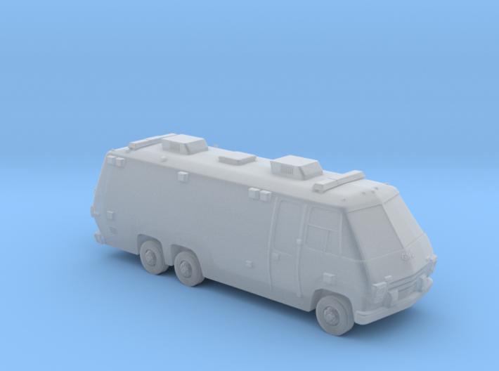 N Scale 1975 Big Ambulance 3d printed
