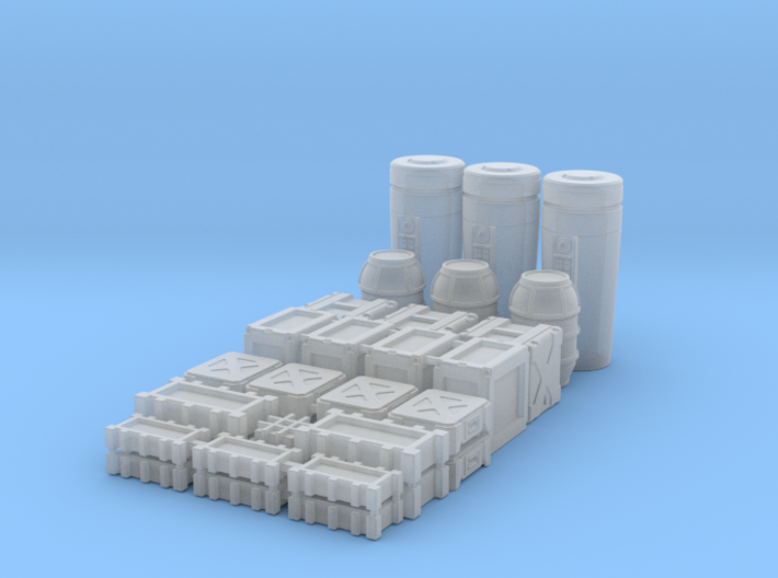 1:48 SW Deluxe Container Set 3d printed