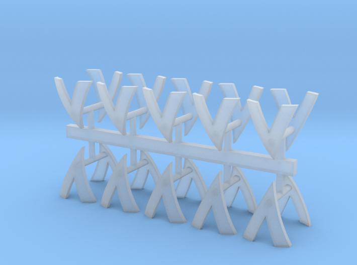 Devastators Shoulder Pad icons x20 3d printed