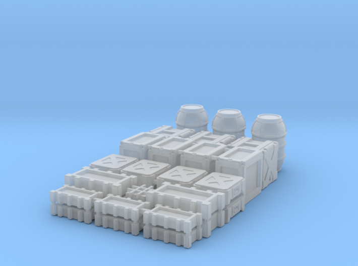 1:48 SW Container Set 3d printed