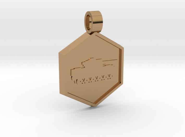 Tank [pendant] 3d printed