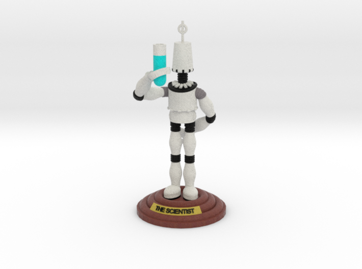 boOpGame Shop - The Scientist 3d printed boOpGame Shop - The Scientist
