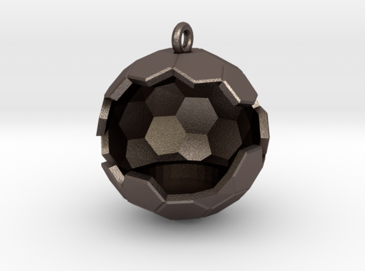 Geode Ornament 3d printed