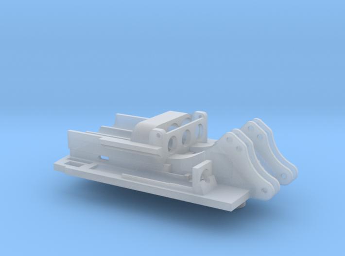 Bodenplatte Herpa R954 für RC-Umbau in 1:87 3d printed