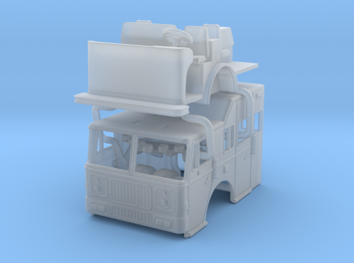 1/160 1993 Seagrave Raised Roof 3d printed