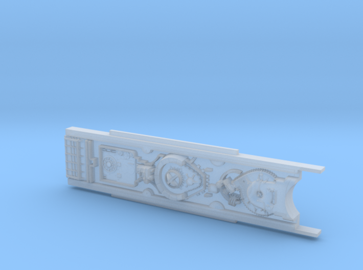 Accurate top cluster for 1/29 Scale Revell X-Wing 3d printed