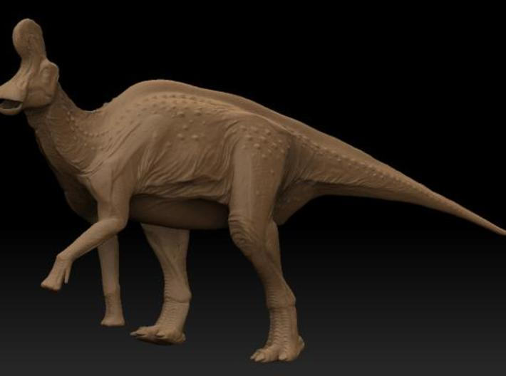 Lambeosaurus m. Climbing Medium 3d printed Description