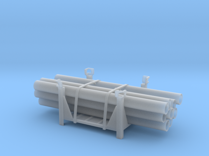 Stackable Container Type4 +load 3d printed