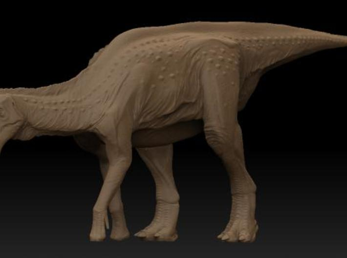 Lambeosaurus m. Eating Small 3d printed Description