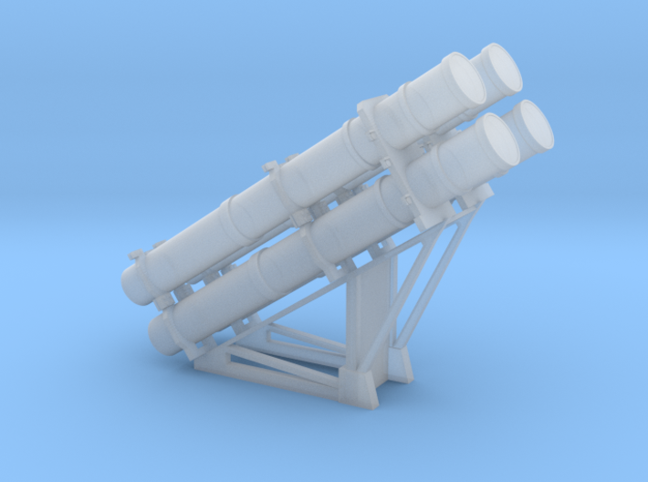 RGM-84 Harpoon Launcher 1/100 3d printed