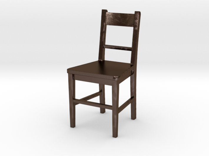 Small Basic Chair 3d printed
