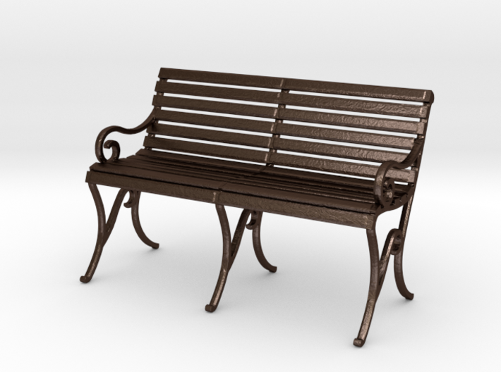 Period Park Bench 3d printed