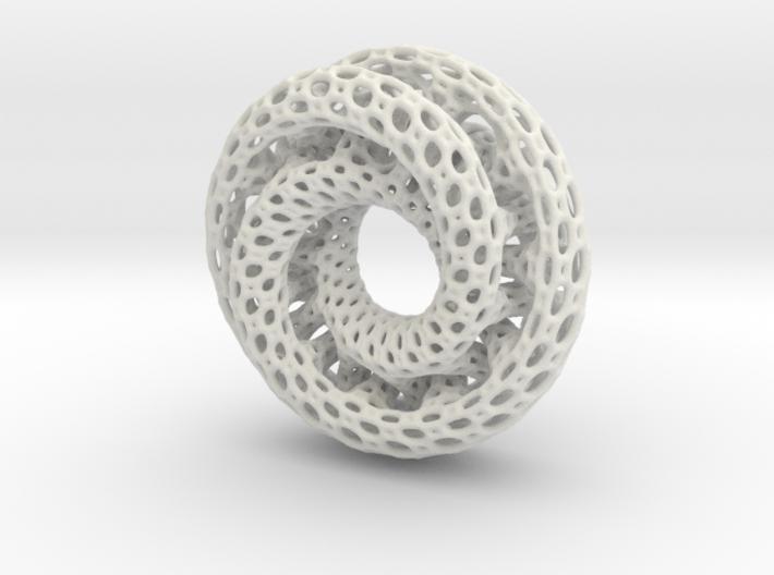Dual Mobius Plasmid 3d printed