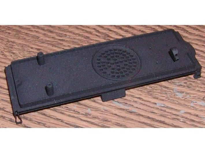 ATSF 12K Tender Chassis TCS 28 3d printed 3 truck mount pad already removed
