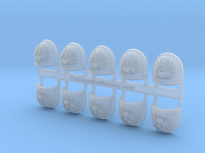 Vigilant Angels - Gen7:Standard Shoulder x10 3d printed