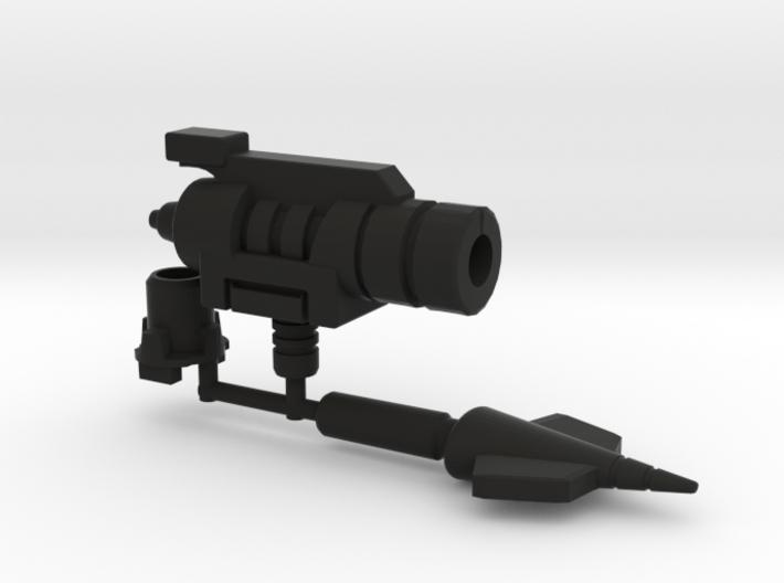 Dinobot Slash's Hip Missile, 5mm 3d printed