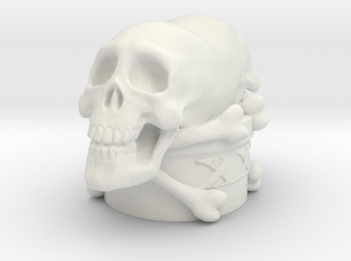 Poison Skulls Bottlestop 3d printed