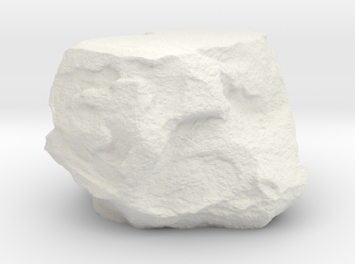 Small Rock Environment Miniature 3d printed