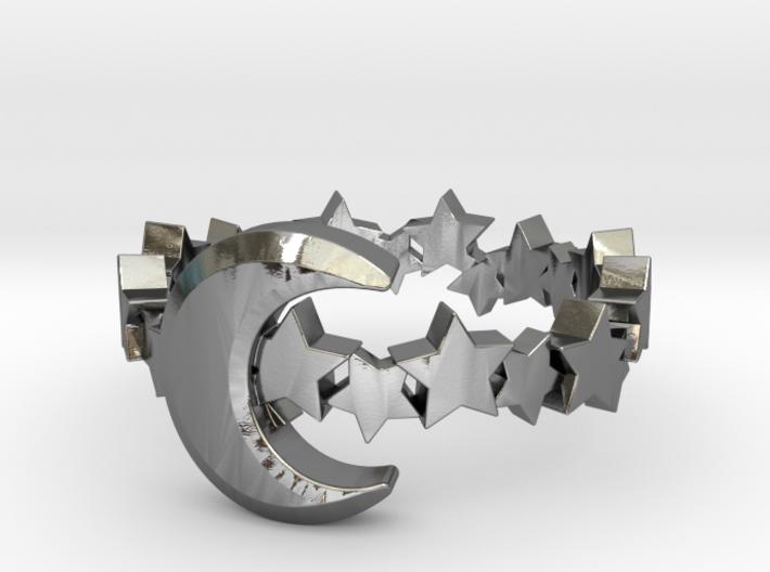 Celestial Ring 3d printed