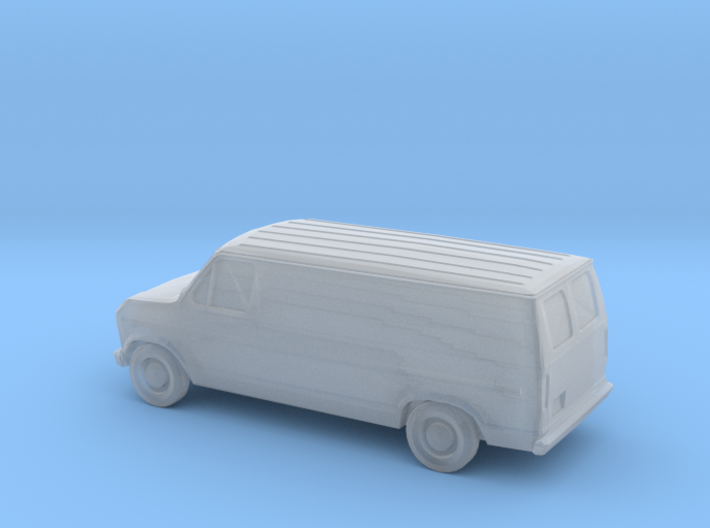 1/220 1985 Ford Econoline 3d printed