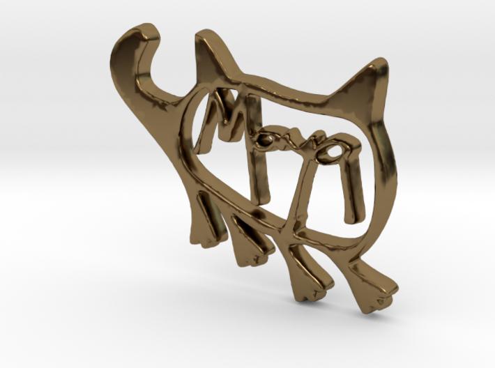 Maya Pendant 3d printed