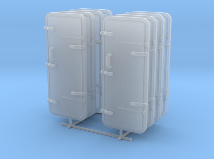 1/48 IJN Watertight Doors Set x8 3d printed