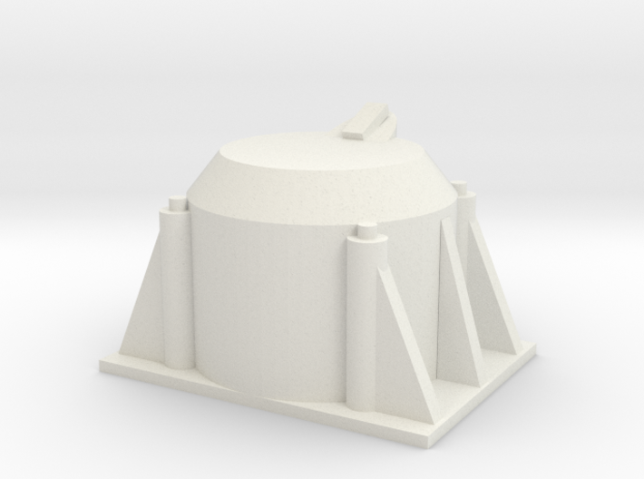 Single Axle Box v.2 1/25 Scale 3d printed