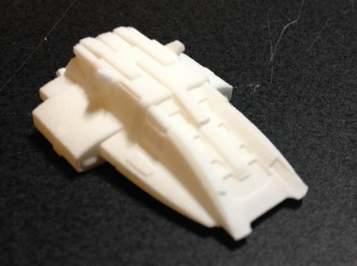 Kal'Ger Pursuit Special MicroMachine Scale 3d printed I'm not sure, but I think they are excited over this model. Just a guess. LOL