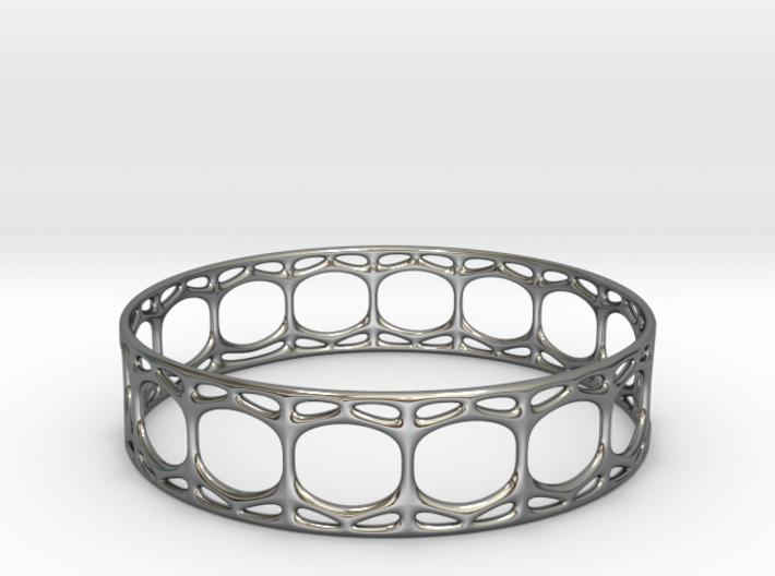 Voronoi Cylindrical Bracelet 3d printed Voronoi Cylindrical Bracelet