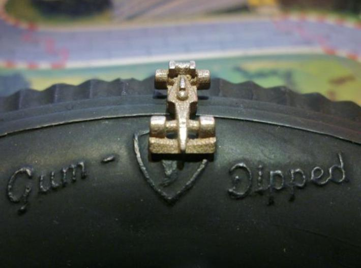 Formula 1 Miniatures - 2011 3d printed Stainless Steel 3
