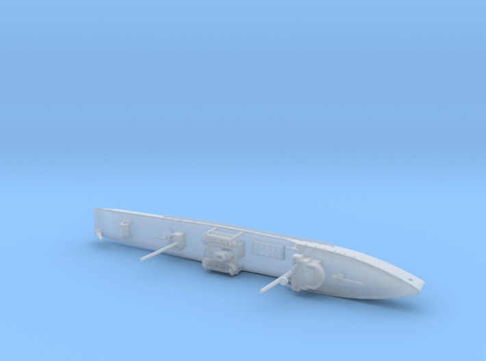 1/1200th scale Fugas class soviet minelayer ship 3d printed