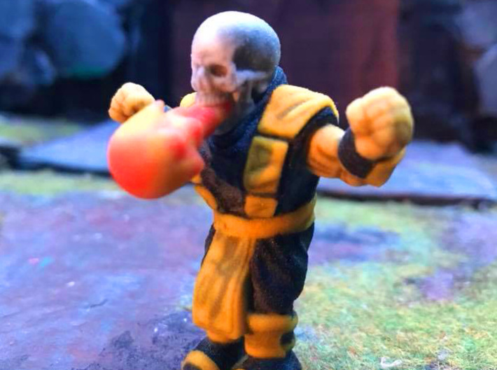 Fatality Scorpion 2 3d printed