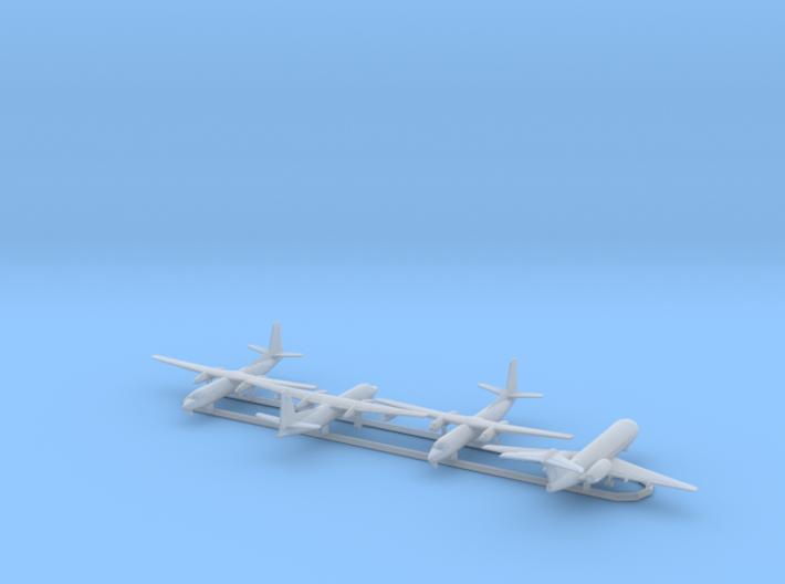 1/700 Fokker F.27, F.50 & F.70 w/Gear x4 (FUD) 3d printed