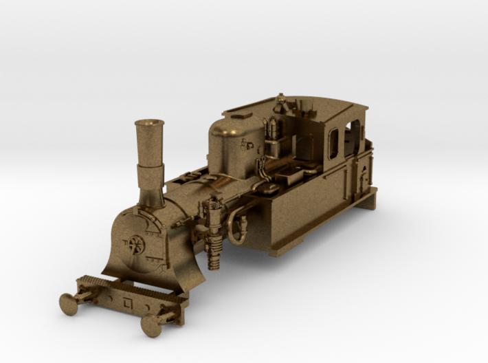 TT scale DSB class F Metal parts (part 1/2) 3d printed