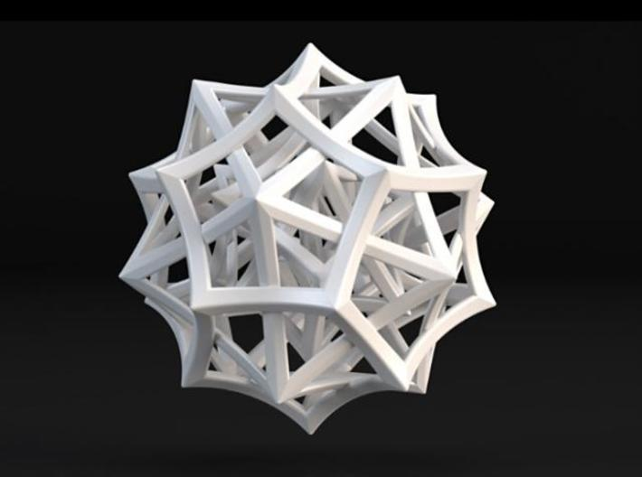 """BBC """"The Code"""" Prize 3d printed A Maxwell render."""