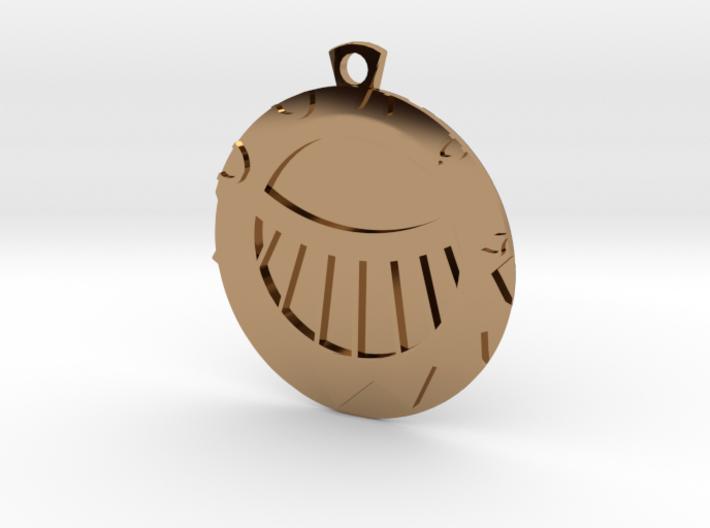Golden_Cities_Medal_Sun 3d printed