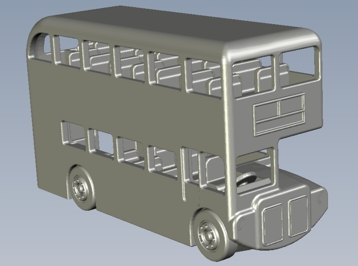 1/350 scale AEC Routemaster double-decker bus x 1 3d printed