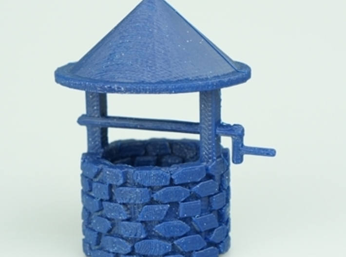Wishing Well 3 3d printed