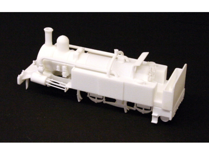 District Railway A Class 3d printed Rear view of the assembled model