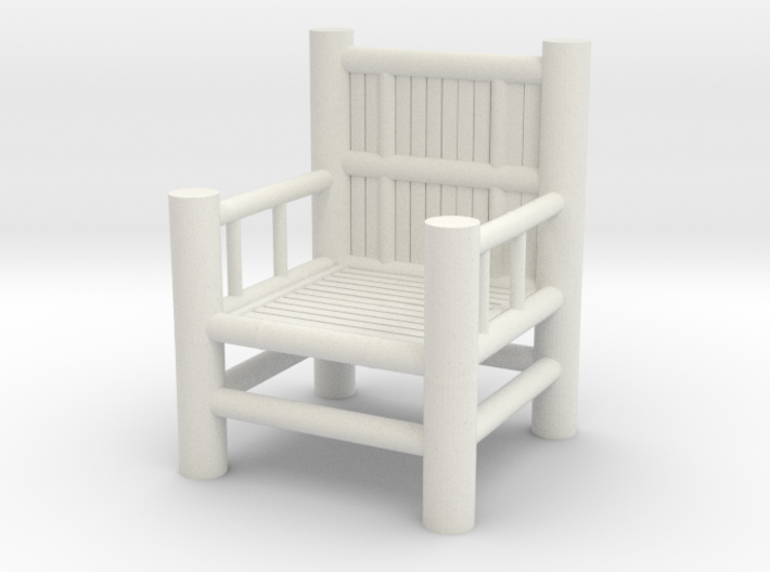Bamboo Chair 1 3d printed