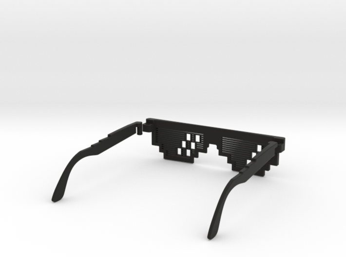 Deal with it - thug life Glasses 3d printed