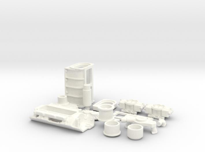 1/10 BBC GMC Blower System 3d printed
