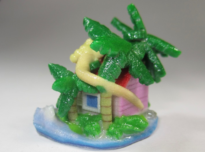 Hermit's House 3d printed