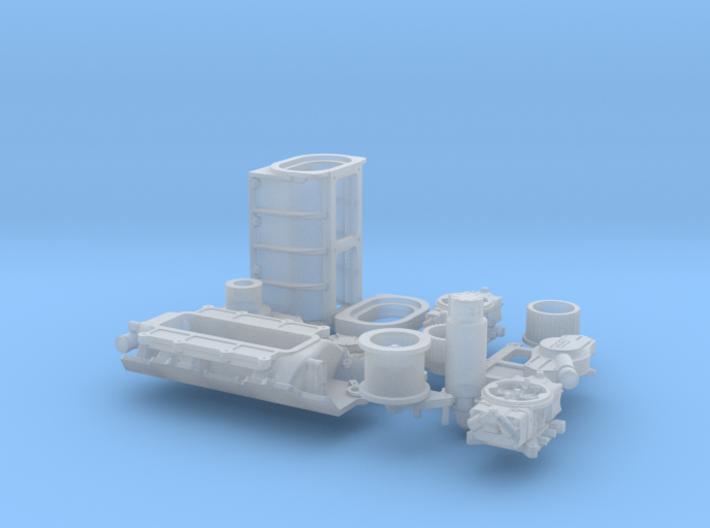 1/32 BBC GMC Blower System 3d printed