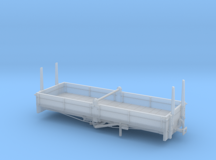 North East Dundas Tramway A class open wagon OO sc 3d printed