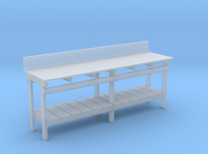 S Scale workbench (no drawers) 3d printed