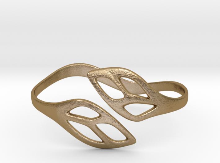 FLOS Bracelet. Smooth Elegance. 3d printed