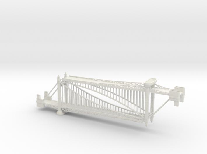 1/1200th scale Szabadsag hid (Liberty bridge) 3d printed