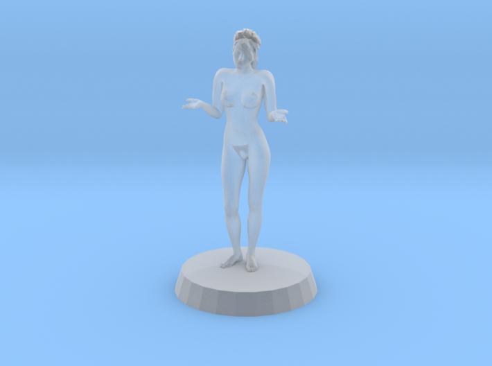 Sexy Girl in Bikini 3d printed