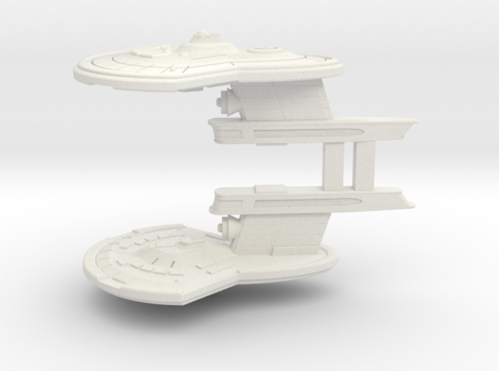 Two Destroyer Escort 3d printed